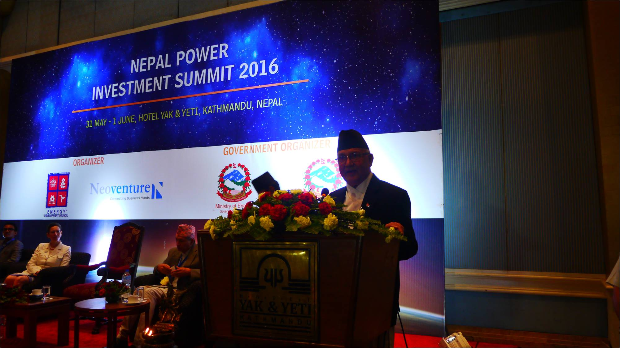 Nepal Power Investment Summit 2016- the future battery of South Asia (31st May-3rd June'2016),Kathmandu