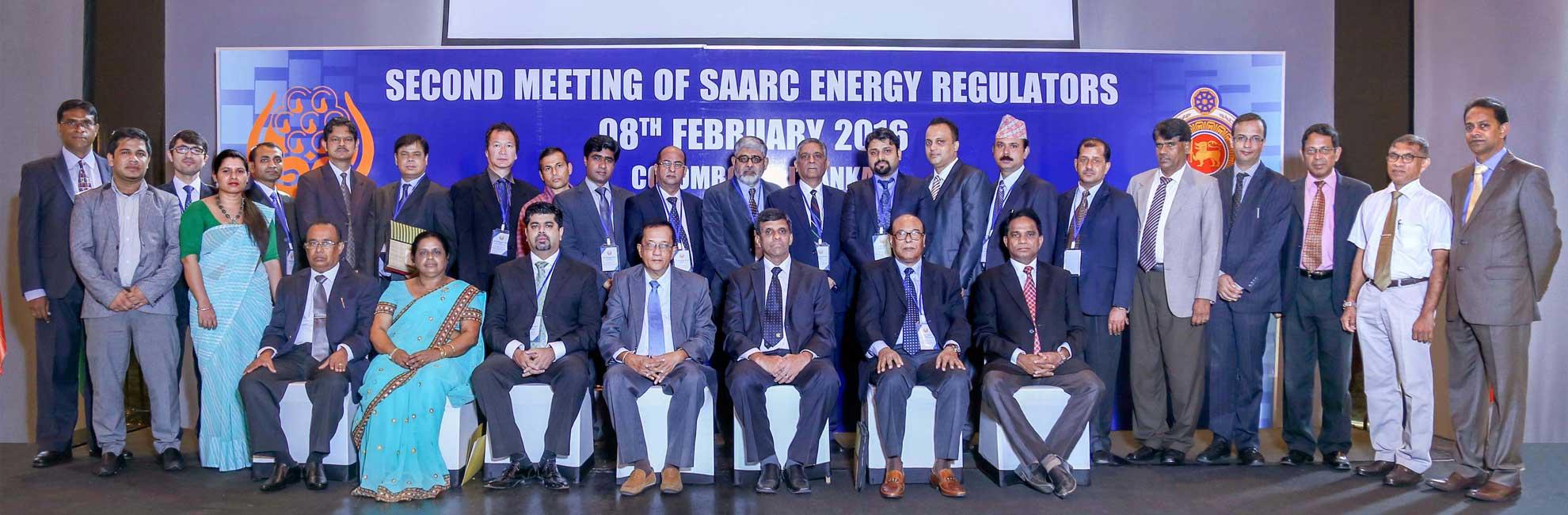 SARI/EI Delegation to the 2nd Meeting of SAARC Energy Regulators