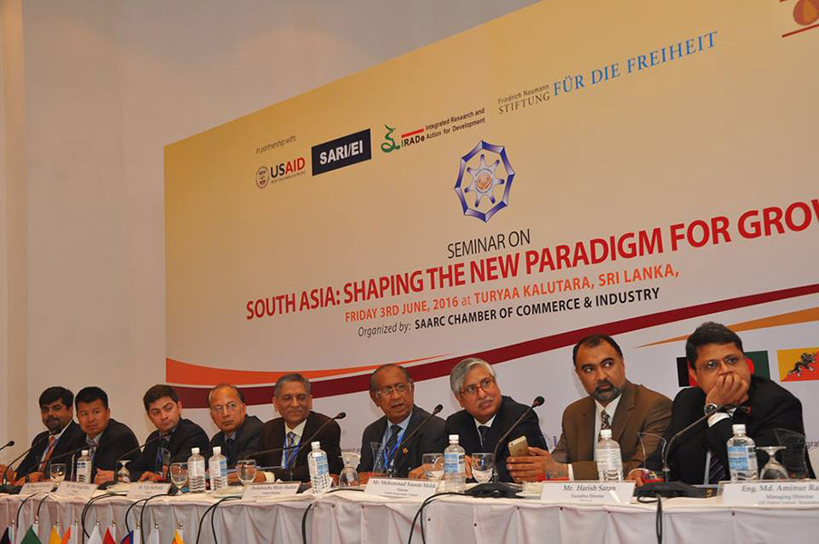 SAARC CCI Conference South Asia: Shaping the New Paradigm for Growth
