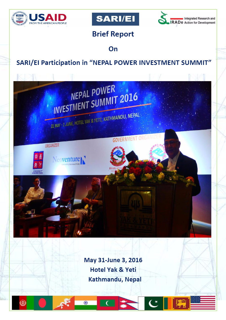 Brief_Report-SARI-EI_Participation_in_Nepal_Investment_Summit-May_31-June_3__2016-Rajiv_Ratna_Panda_123-1