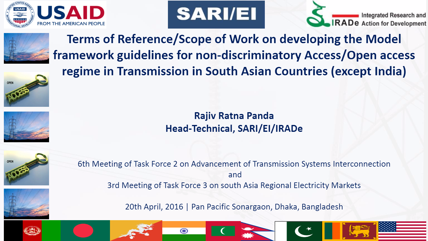 PPT-on-TOR-Scope-of-Work-on-developing-the-Model-framework-guidelines-for-non-discriminatory-open-access-regime-in-Transmission-in-SAC-and-for-CBET-Rajiv