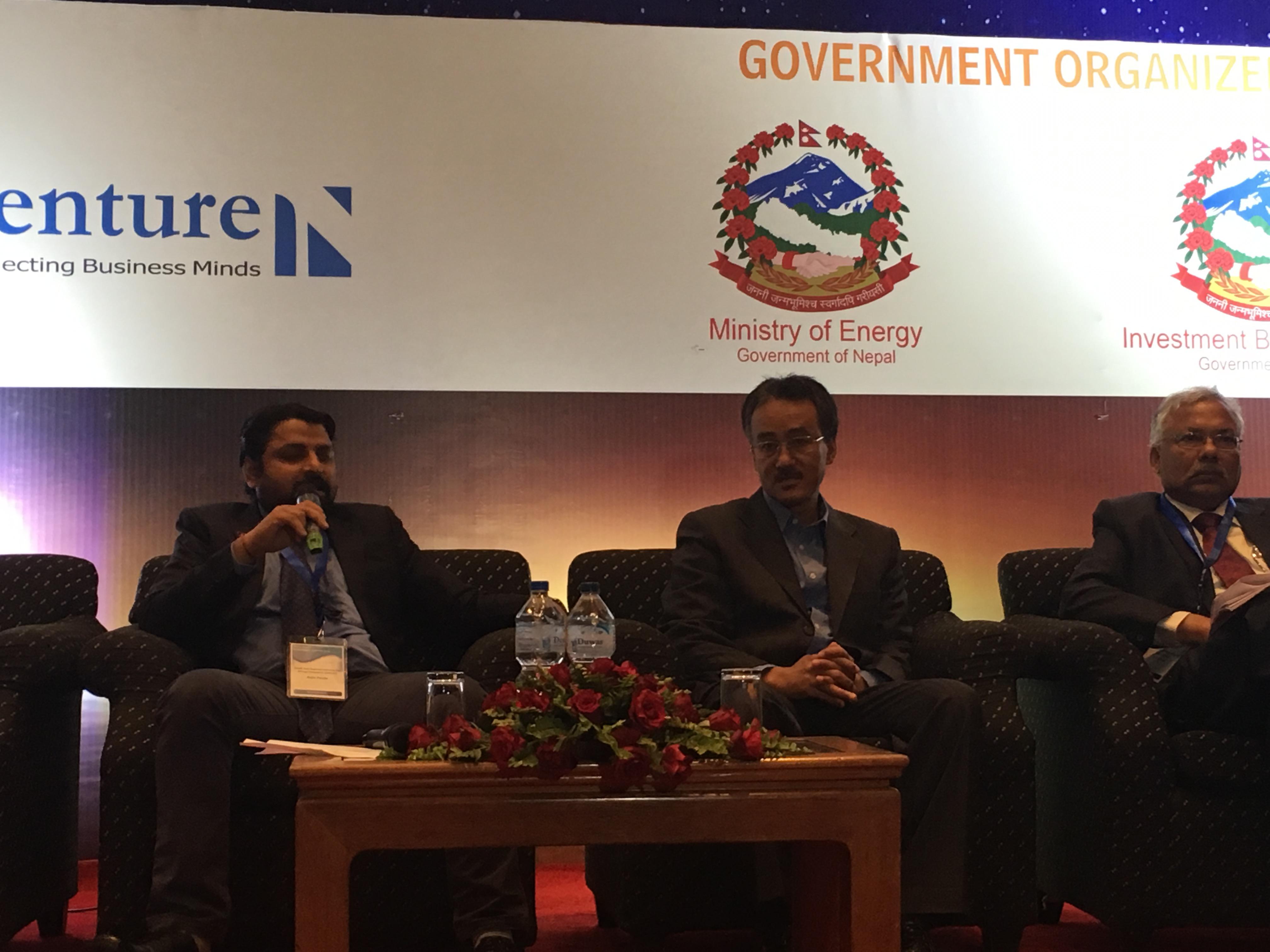 Nepal Power Investment Summit 2016-