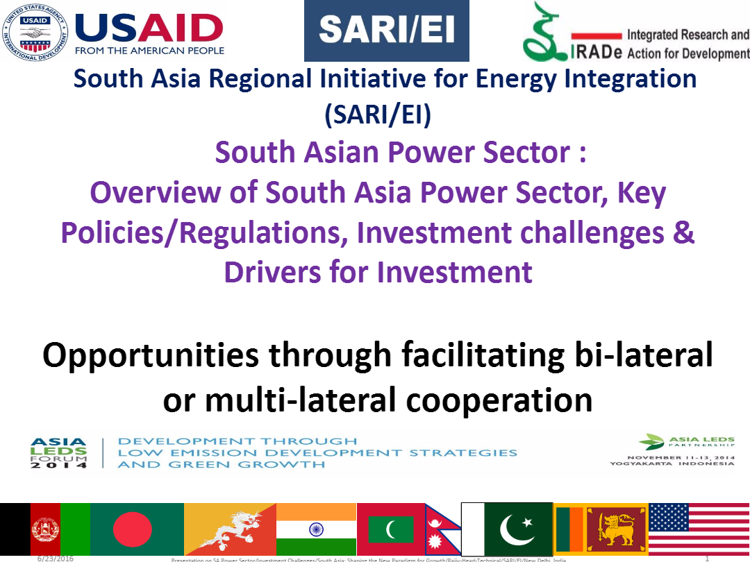 South-Asian-Power-Sector