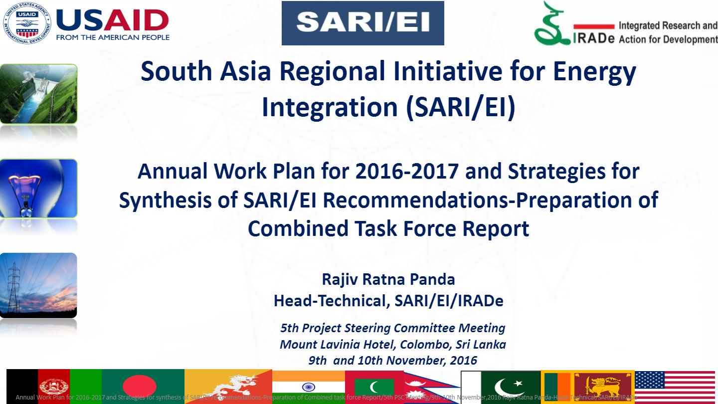 Annual-Work-Plan-for-2016-2017-and-Strategies-for-synthesis-of-SARI-EI-recommendations-Preparation-of-Combined-task-force-Report-Rajiv-Ratna-Panda-Head-Technical-SARI-EI