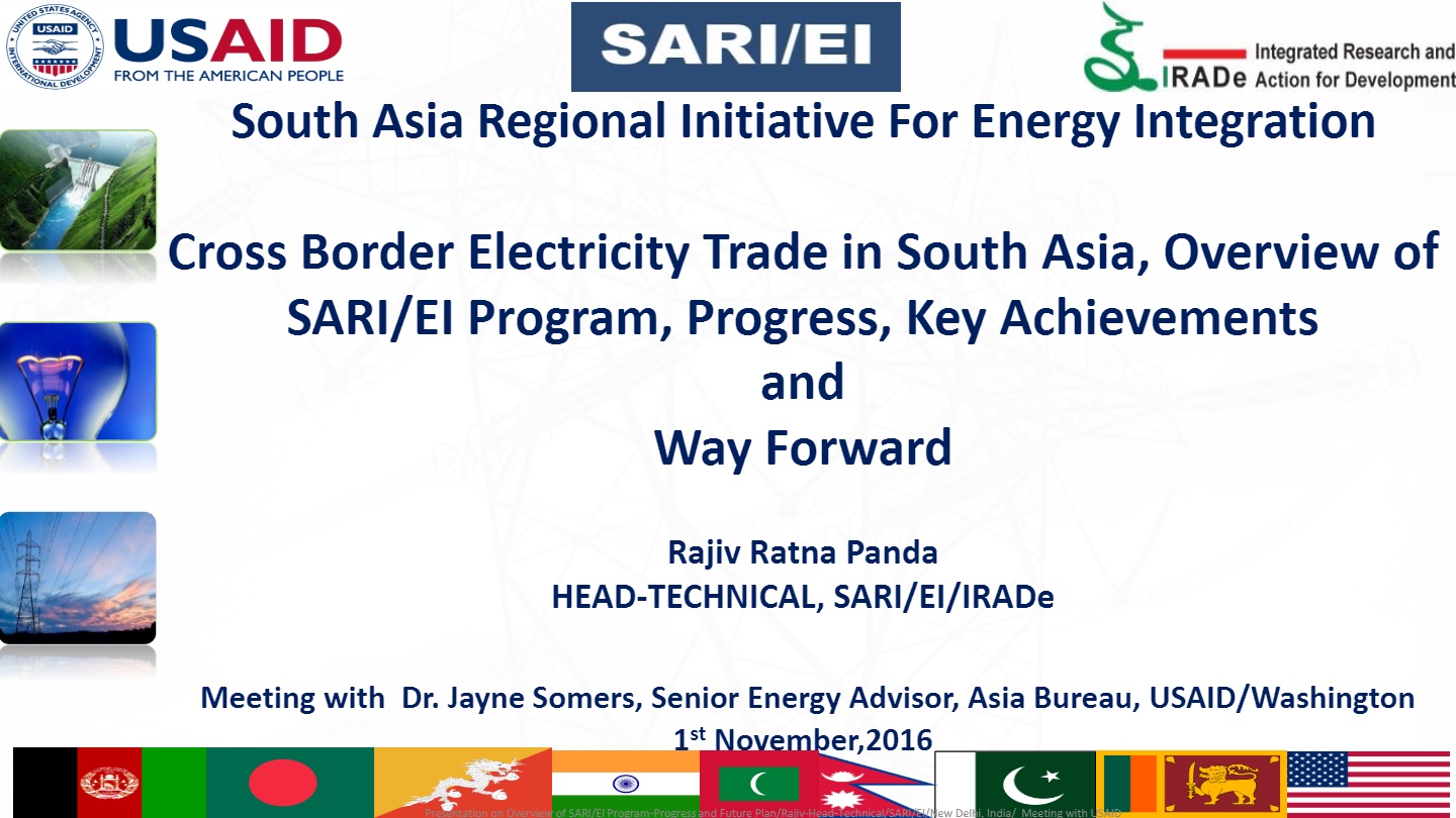Cross-Border-Electricity-Trade-in-South-Asia-Overview-of-SARIEI-Program-Progress-Key-Achievements-Rajiv-Ratna-Panda-Head-Technical-SARI-EI-IRADe