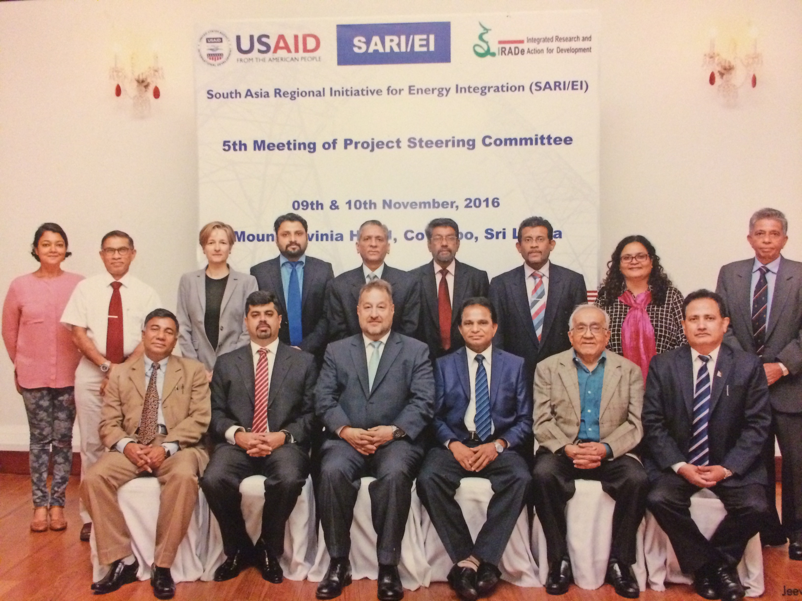 5th Meeting of Project Steering Committee-Maitland State Room  Mount Lavinia Hotel, Colombo, Sri Lanka 9th and 10th November,2016