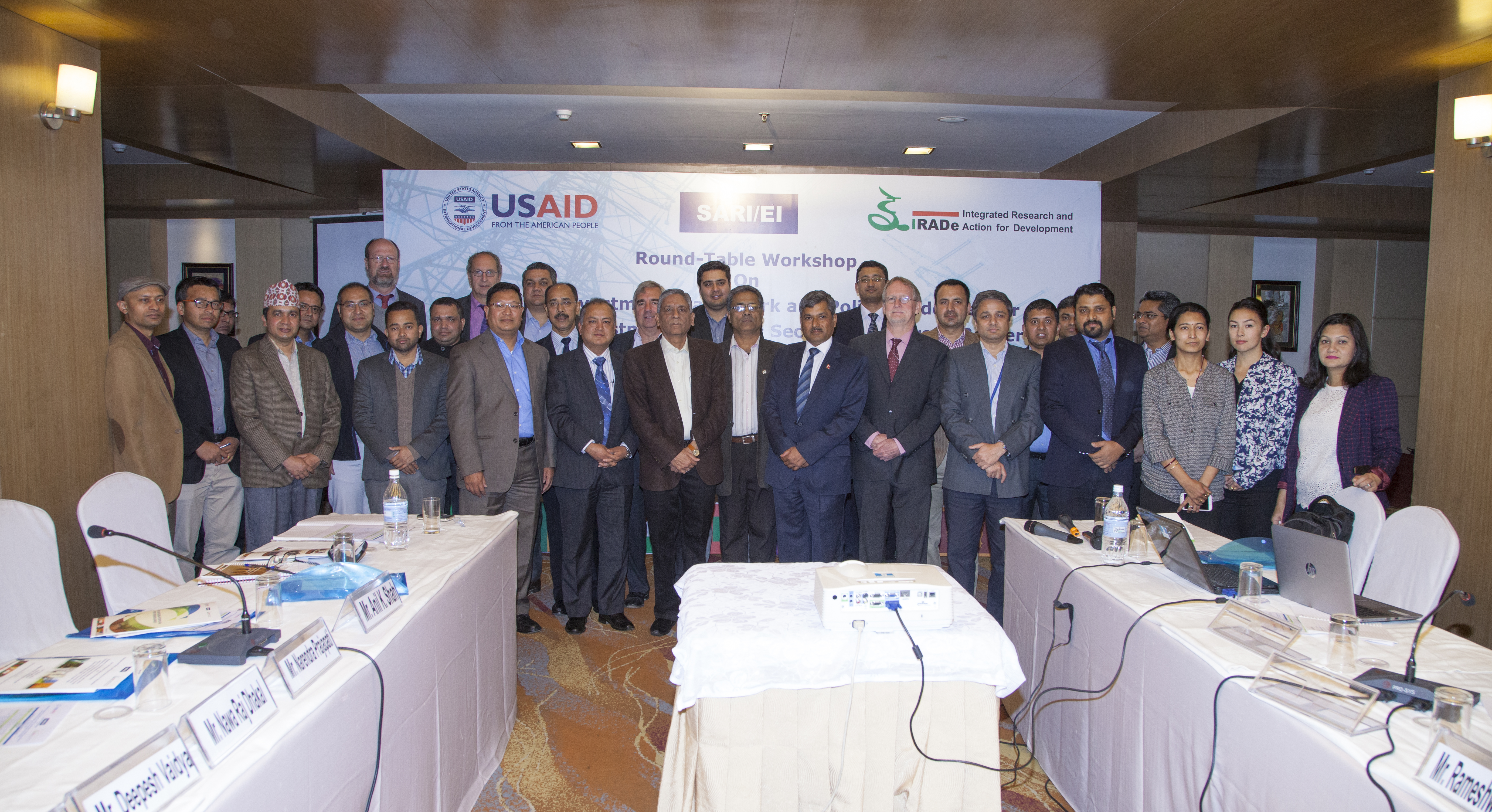 Round-Table Workshop On Regional Investment Framework and Policy Guidelines for promoting investment in South Asian Power Sector and in Cross-Border Electricity Trade (CBET) in South Asia-17th March, 2017 Hotel Radisson Kathmandu, Nepal