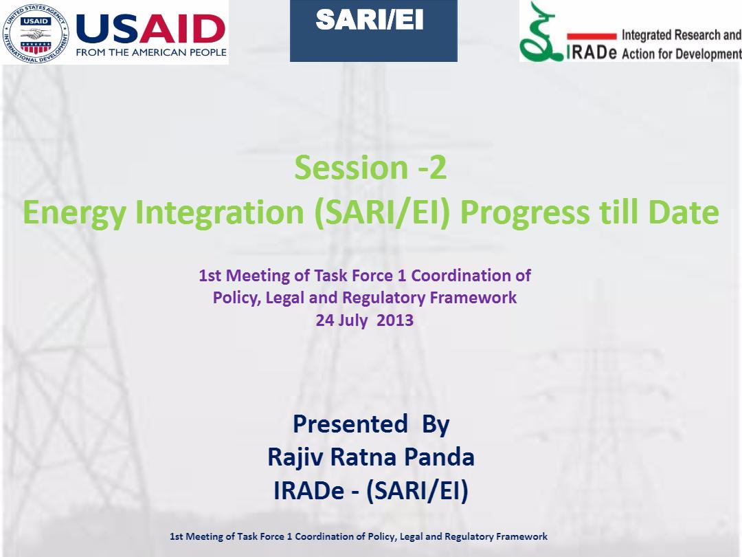SARI_EI_Progress