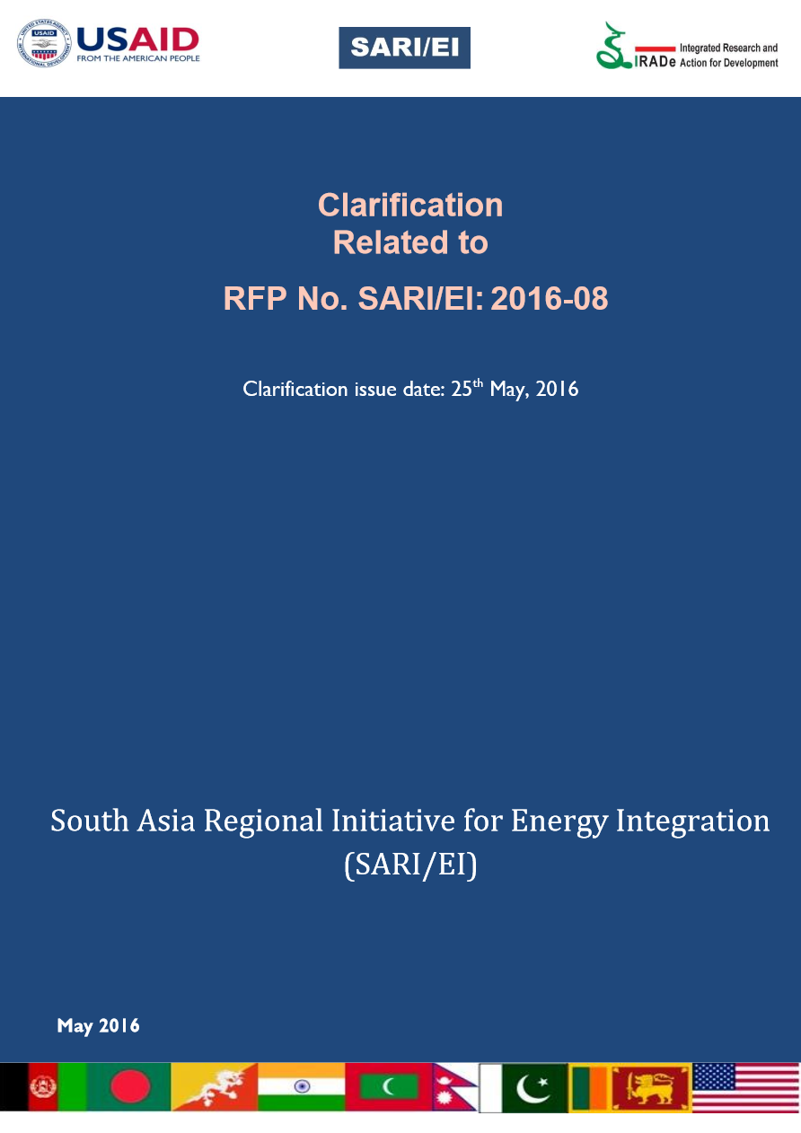 SARI_RFP-Pilot-Market-Clarification-25.05.2016