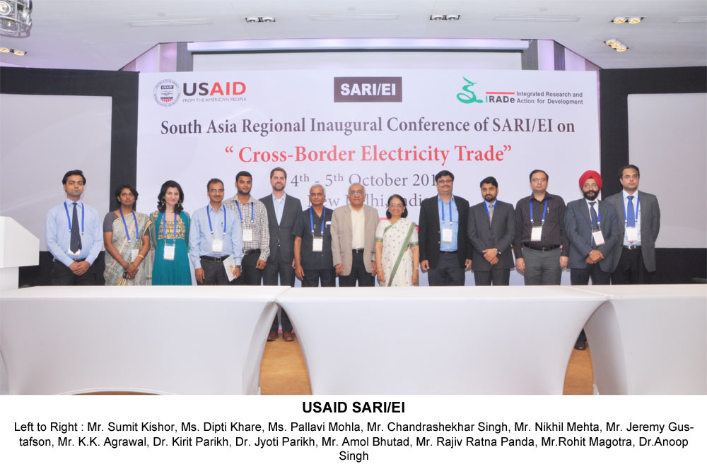 Catalyzing Cross Border Electricity Trade in South Asia: SAFER