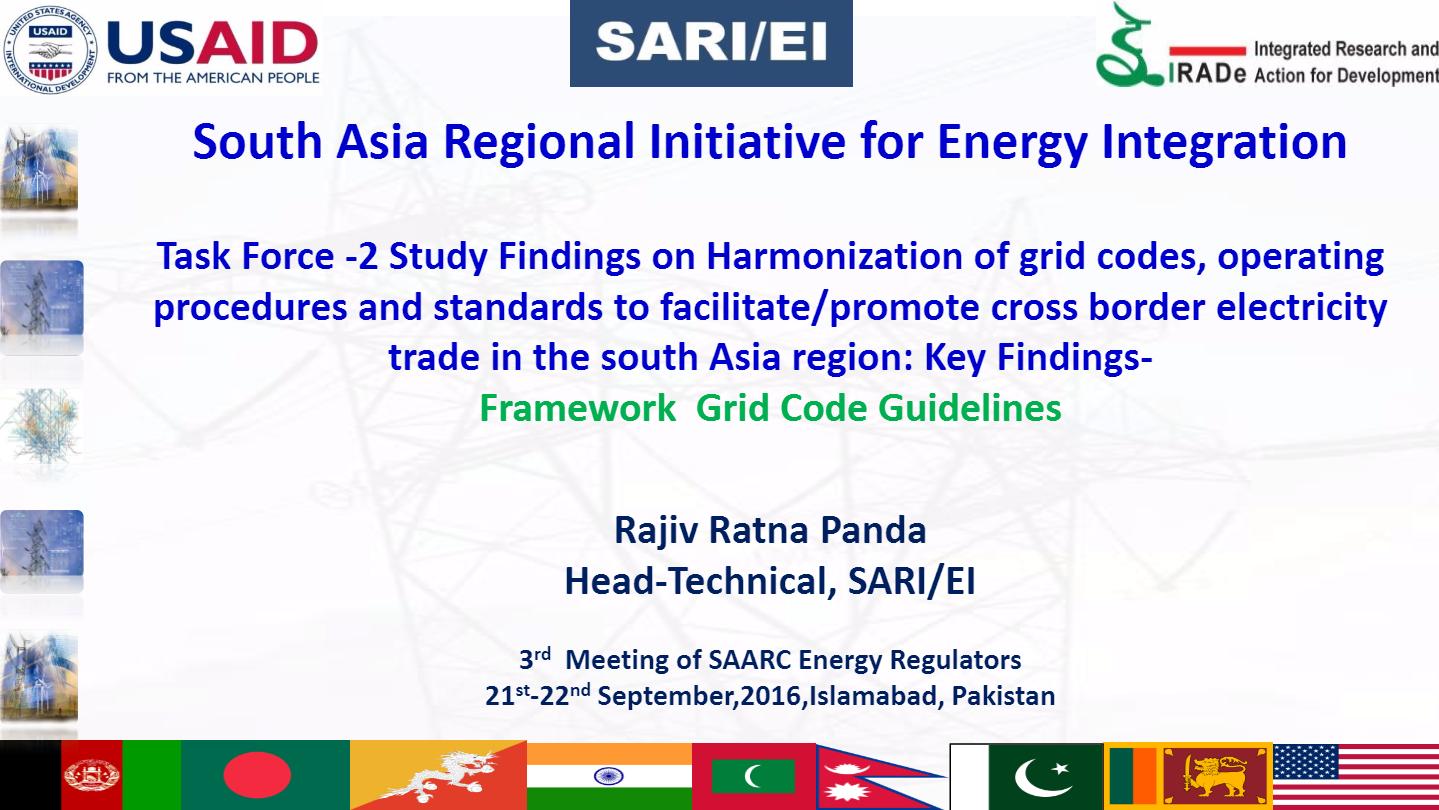 3rd Meeting of SAARC Energy Regulators on 21-22 September
