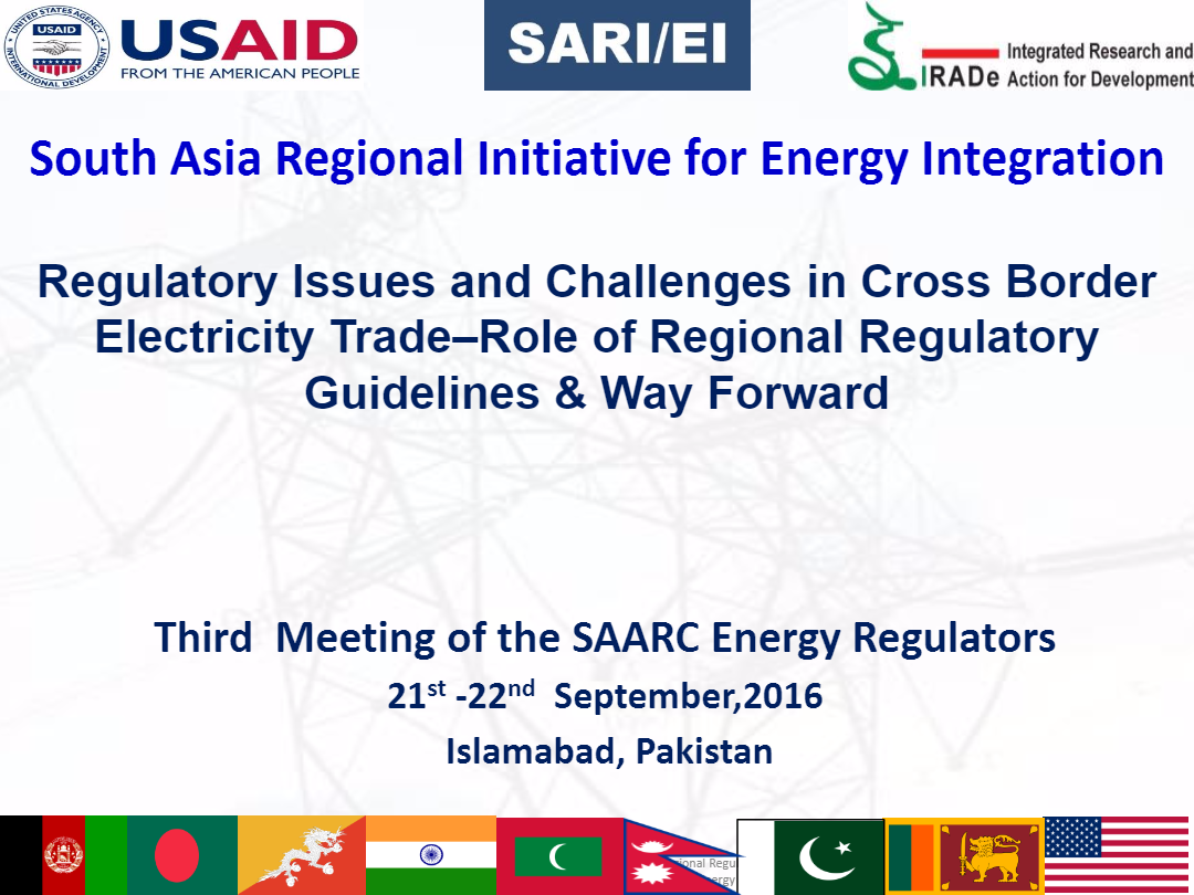Regulatory-Issues-and-Challenges-in-CBET---Role-of-RRGs-Way-Forward-3rd-SAARC-Regulators-Meeting-Rajiv-18-09-2016-1-