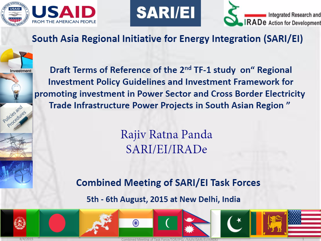 6SARI-EI-IRADe-Presentation_TOR_on_the_Investment_Policy_Guidilines