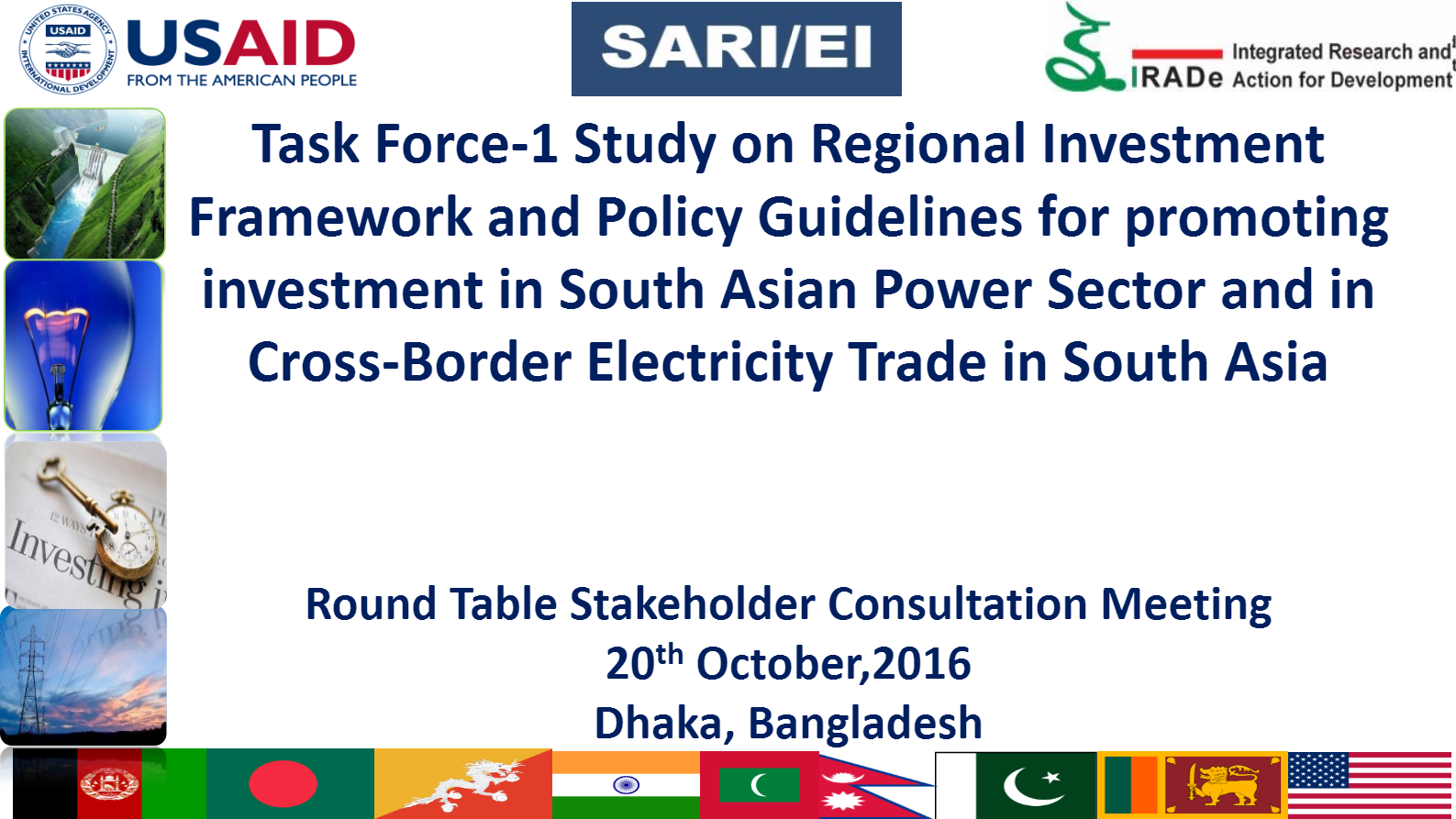 Regional-Investment-Framework-and-Policy-Guidelines-Bangladesh-Workshop-2016-Delloitte-Rajiv-SARI-EI-IRADe