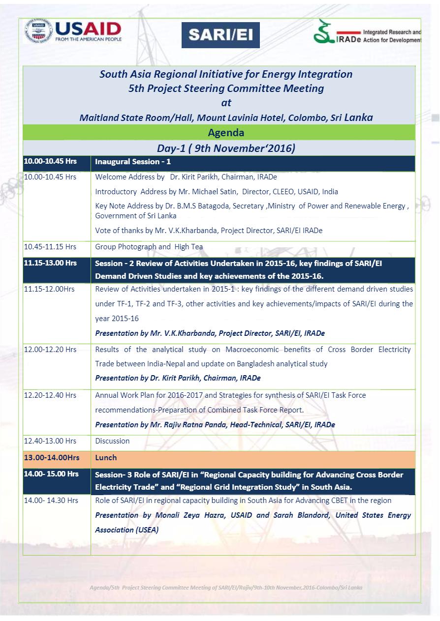 Agenda-5th-PSC-Meeting-of-SARI-EI-Maitland-State-RoomMount-Lavinia-Hotel-Colombo-Sri-Lanka-9th-and-10th-December2016-7