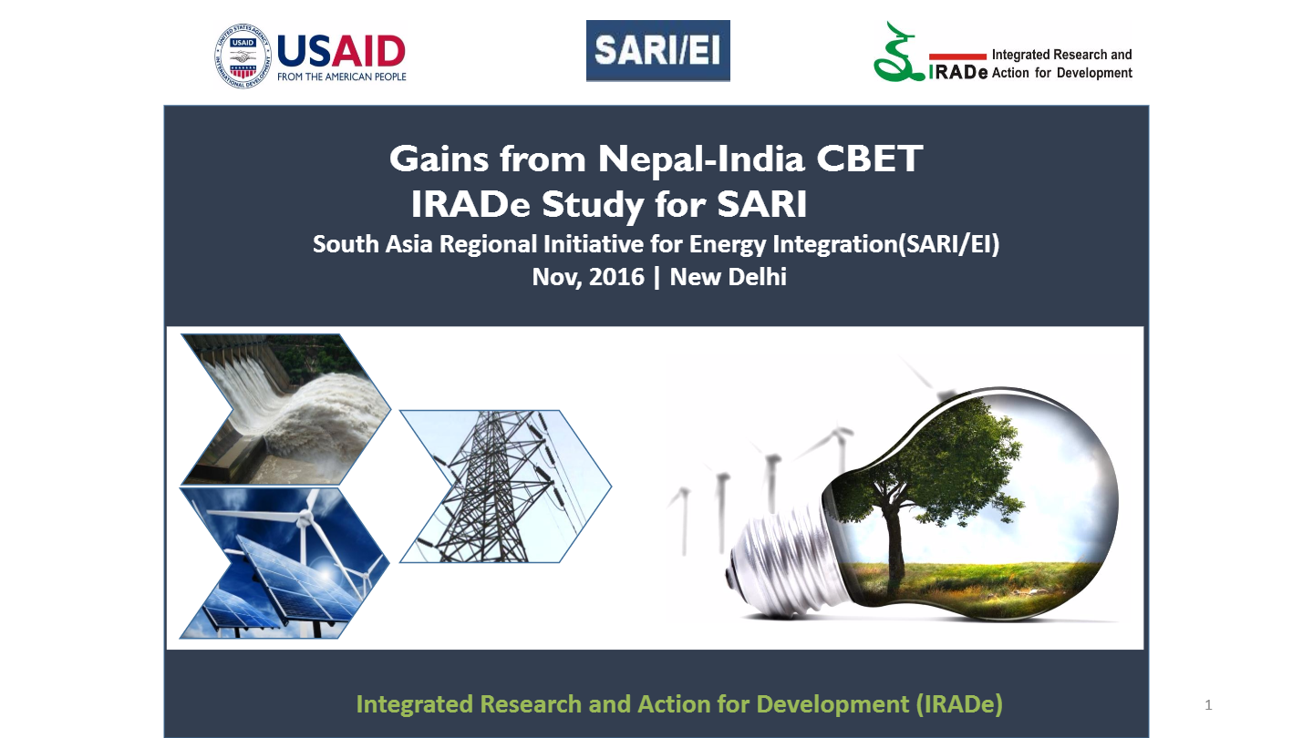 Analytical-Studies-Gains-from-Nepal-India-CBET-Dr.-Kirit-Parikh-ChairmanIRADe