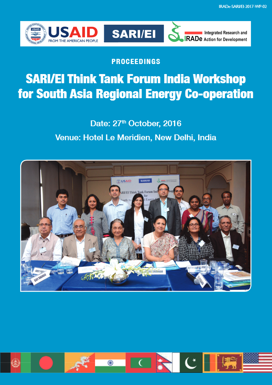 Proceedings-of-SARIEI-Think-Tank-Forum-India-Workshop-for-South-Asia-Regional-Energy-Co-operation