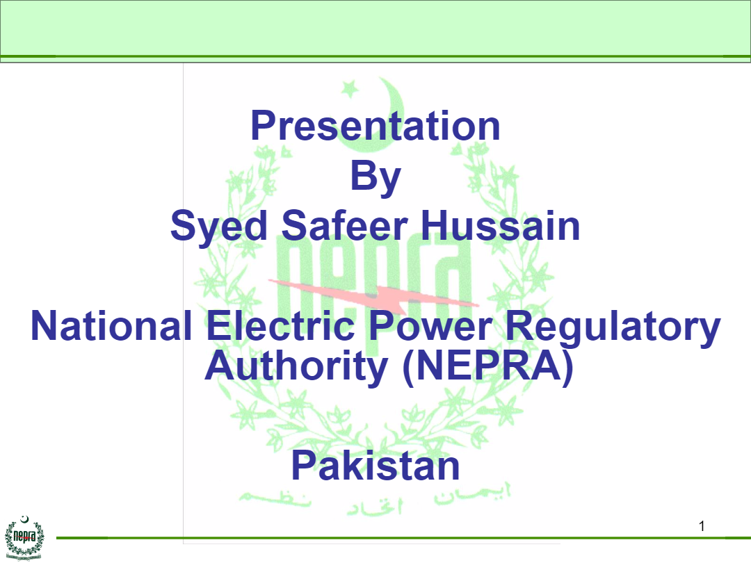 Presentation-by-Syed-Safeer-Hussain-NEPRA