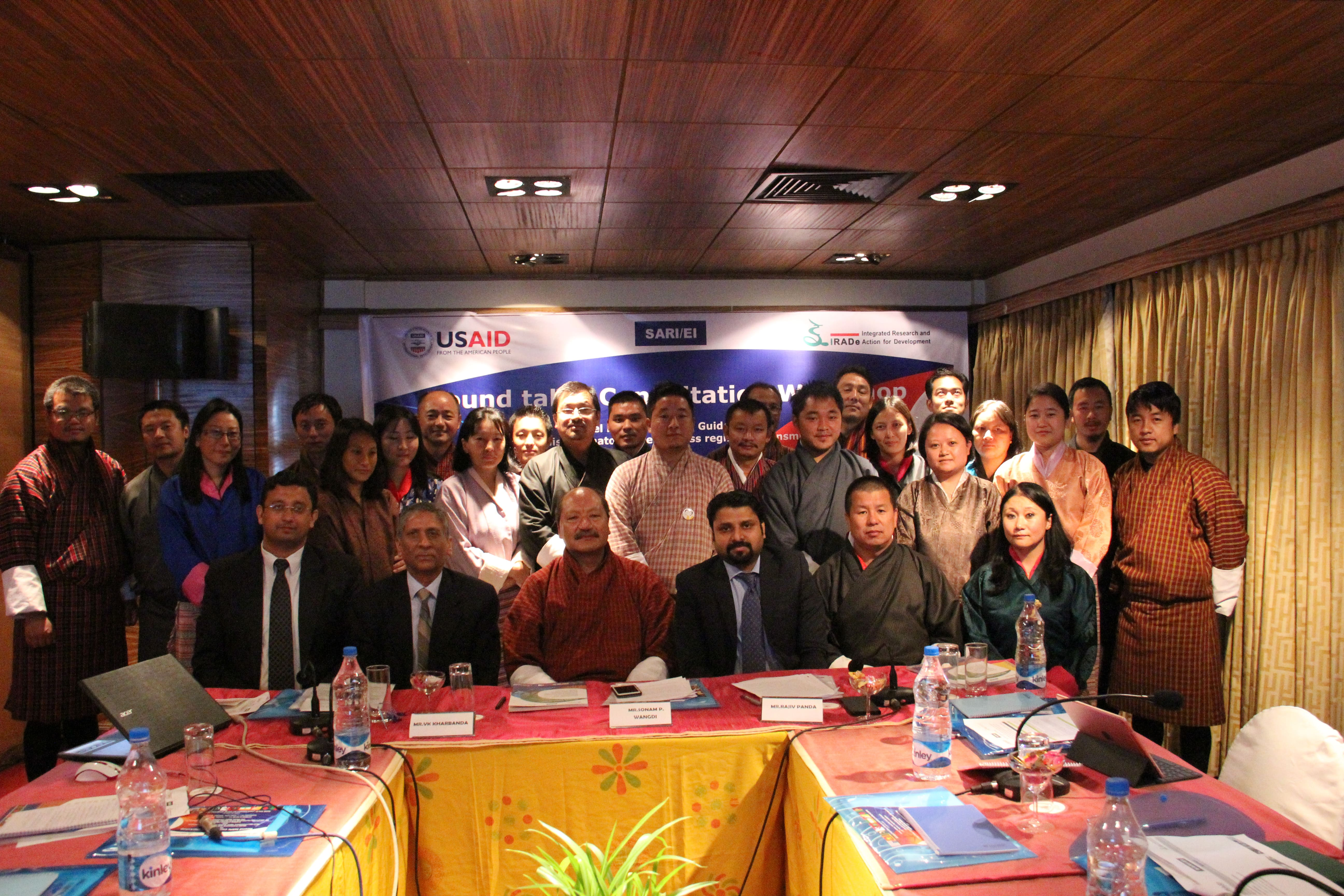 "Round-Table Consultation Workshop On ""Developing Framework and Guidelines for non-discriminatory Open Access regime in transmission and Model Framework for Trading License regime for advancing/facilitating Cross Border Electricity Trade (CBET) in the South Asian Countries Wednesday, 4th October'2017 Conference Hall A, Hotel Druk, Wogzin Lam, Clock Tower Square ,Thimphu, Bhutan"