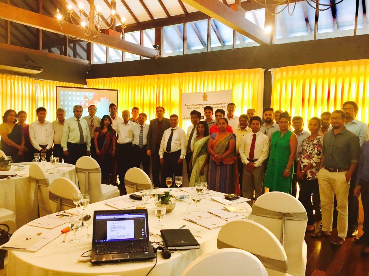 Enhancing Renewable Energy in Sri Lanka: Addressing Gaps in Policies & Regulations & Promoting Regional Cooperation-20th September 2017-Waters Edge Hotel, Battaramulla Sri Lanka