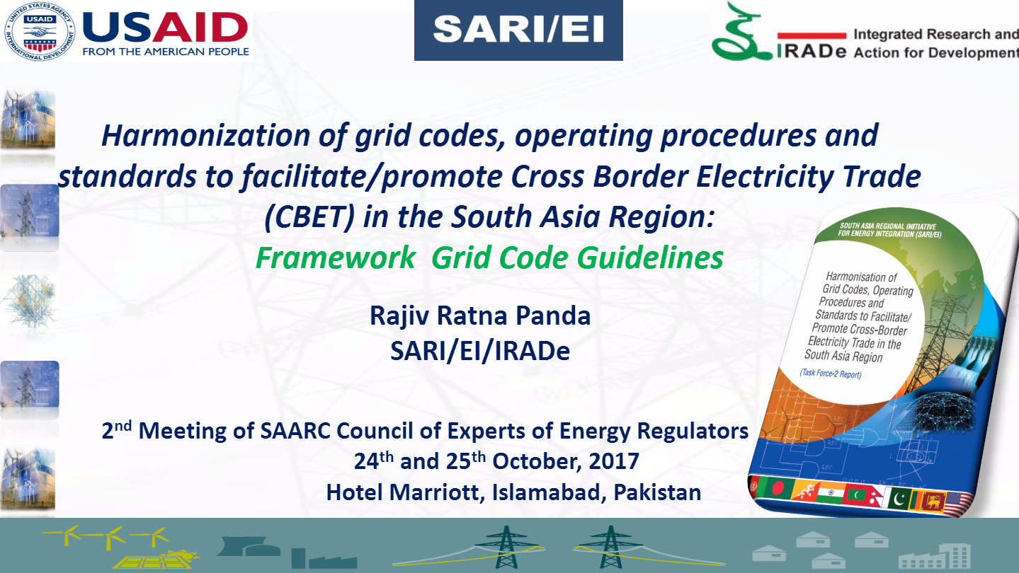 Presentation-on-the-Key-Findings-on-Harmonization-of-grid-codes-Rajiv-Panda-2nd-Meeting-of-SAARC-Council-of-Experts-of-Energy-Regulators