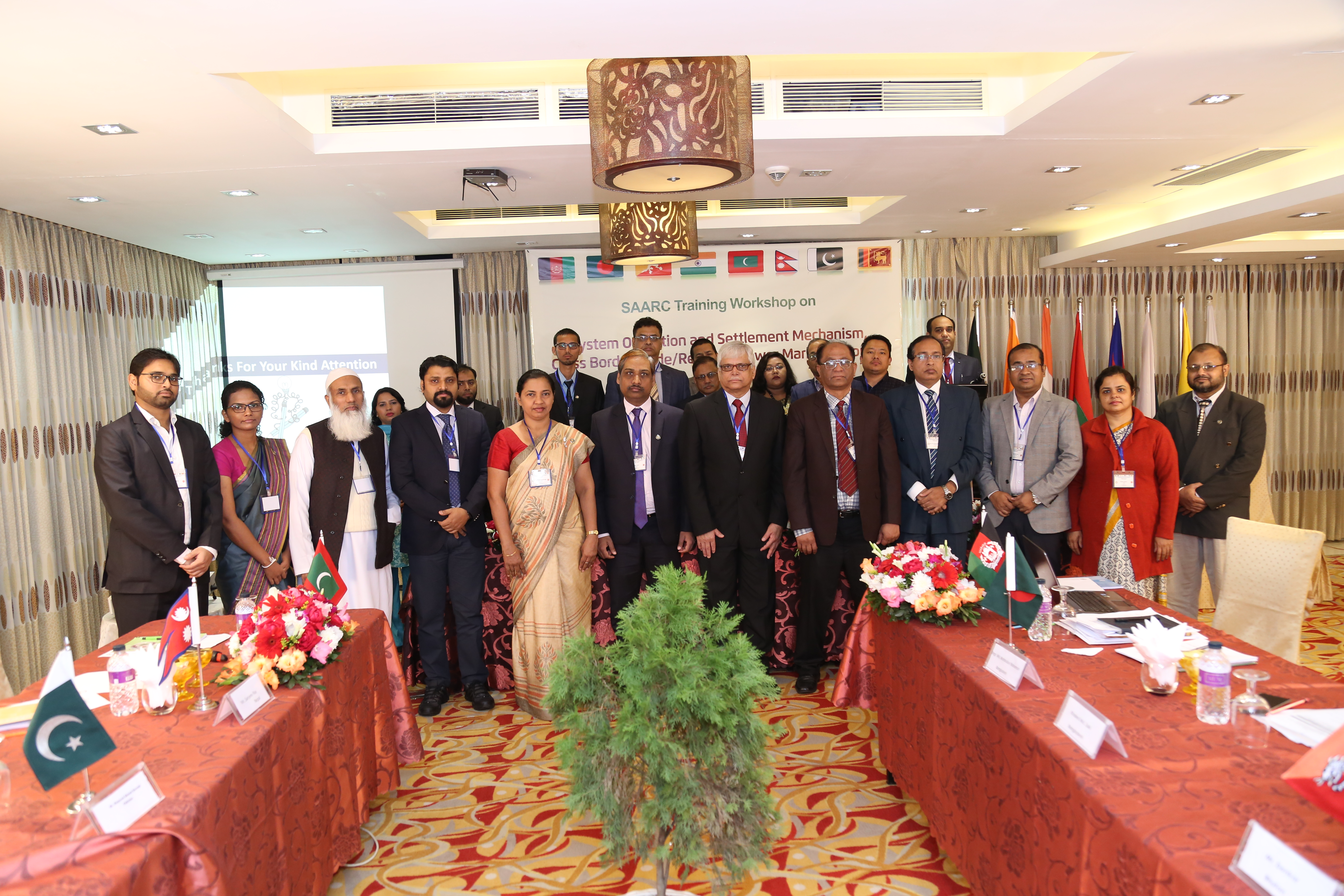 "SAARC Training Workshop on  ""System Operation and Settlement Mechanism, Cross Border Trade/Regional Power Market in South Asia""  10-11 December, 2017  The Bengal Blueberry, Dhaka, Bangladesh"