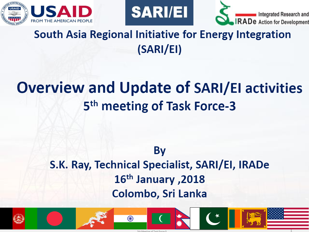 Session-1-Overview-of-SARI-EI-Program-S.-K-Ray-16.01.2018