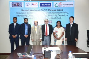 USAID's SARI/EI program organizes 2nd Meeting of South Asia Forum for Infrastructure Regulation (SAFIR) Working Group on 'Regulatory Cooperation to facilitate Knowledge sharing, addressing Cross cutting Energy/Electricity Regulatory Issues & Capacity Building