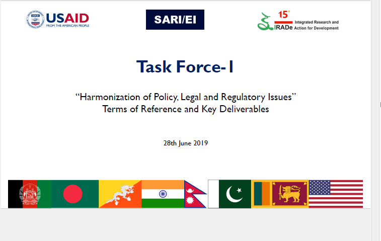 SARI-EI Task Force-1_28th June 2019_PPT