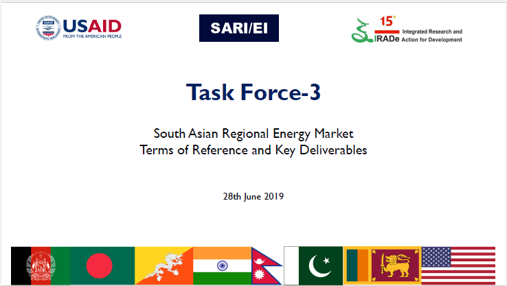 Task Force-3 meeting_South Asian Regional Energy Market_28th June 2019