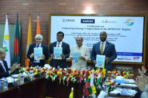 Paper Release on 'Prospects of Regional Energy Cooperation and Cross border Energy Trade' at SARI/EI BIMSTEC conference