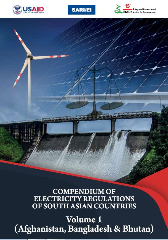 Compendium of South Asian Electricity Regulations- Vol. 1
